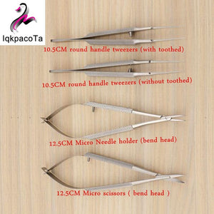 4pcs Ophthalmic Microsurgical Instruments