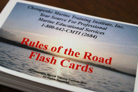 Rules of the Road Flash Cards