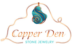 Copper Den Stone Jewelry Logo