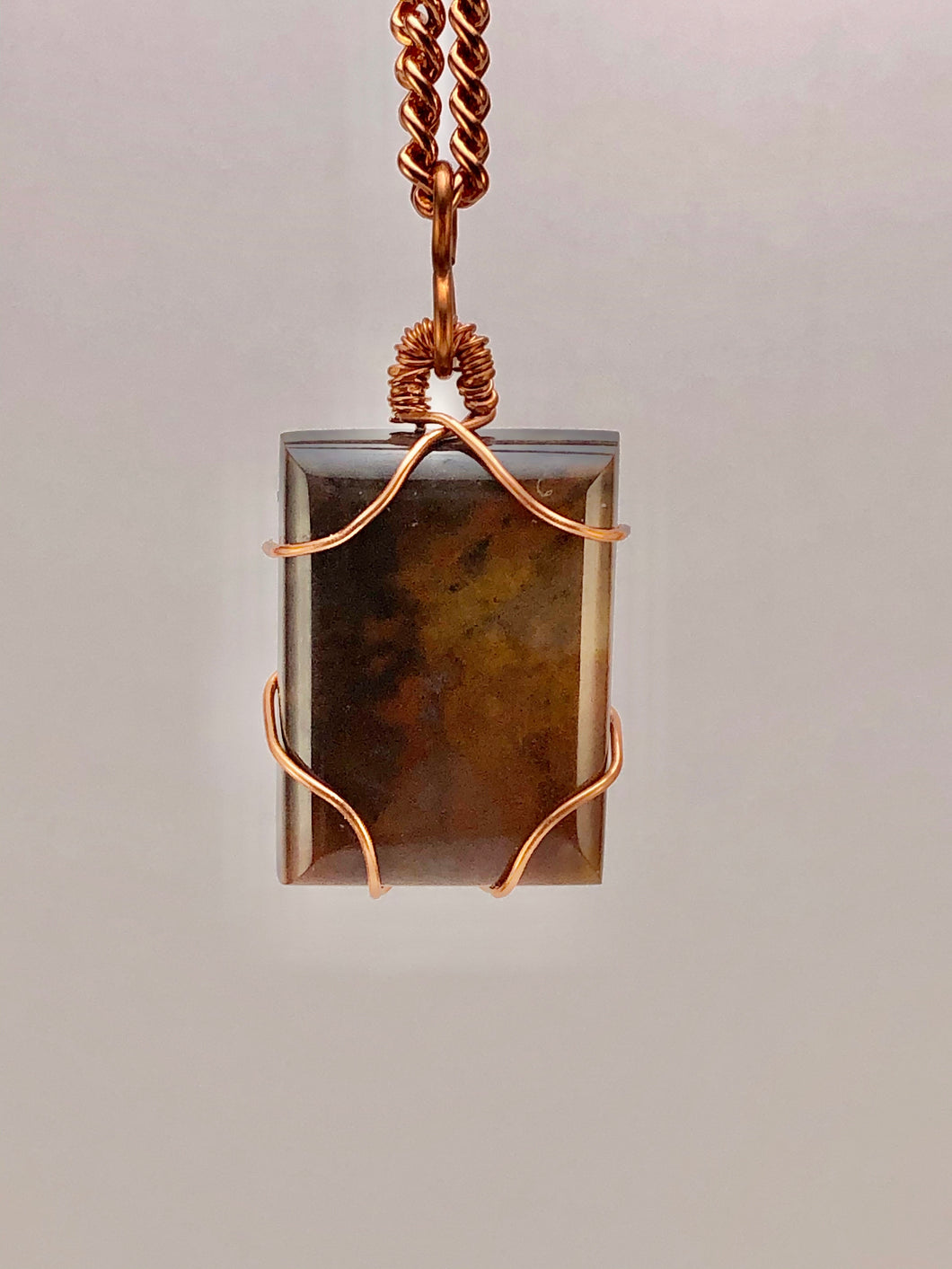 #025 Brown Agate Cabochon