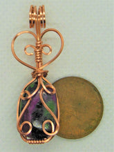 Load image into Gallery viewer, #118 Ruby Zoisite Pendant