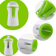 Stainless Steel Portable Spiralizer Vegetable Slicer - Galaxy Food Equipment