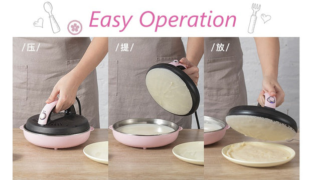 Automatic Non-Stick Crepe Makers Baking Pan - Galaxy Food Equipment