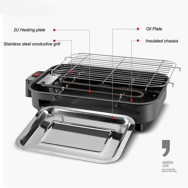 Restaurant Electric Grill Griddles BBQ Equipment - Galaxy Food Equipment