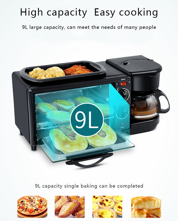 Multifunction Electric Breakfast Machine - Galaxy Food Equipment
