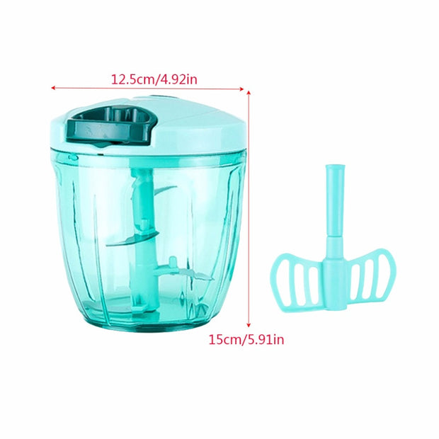 Manual Food Processor Chopper Blender - Galaxy Food Equipment