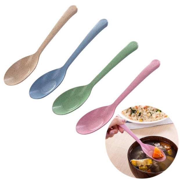 Eco-Friendly Tableware Spoon Restaurant Home Supplies - Galaxy Food Equipment