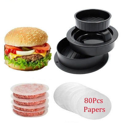 Hamburger Press Meat Press Stuffed Mold Maker - Galaxy Food Equipment
