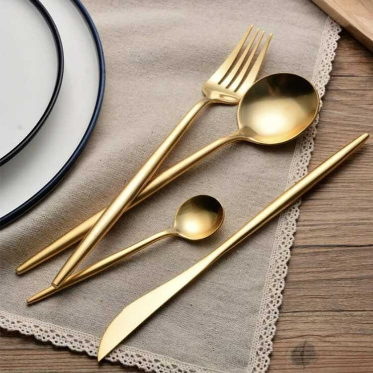 Milano Gold Flatware set