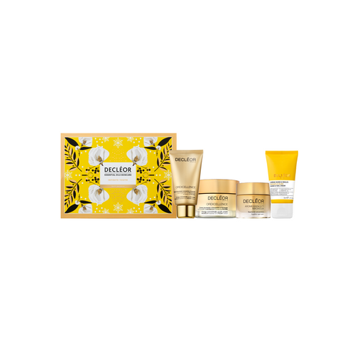 Decleor infinite Youth White Magnolia Gift set Contains  Aromessence Magnolia Youth Balm15ml Orexcellence Energy Concentrate Youth Cream 50 ml  Orexcellence Energy Concentrate Youth Mask 50ml Hand Cream 50ml