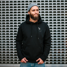 Laden Sie das Bild in den Galerie-Viewer, ShakeNight Hoodie Black // Unisex