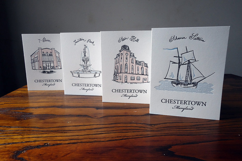 Mixed Chestertown Card Set