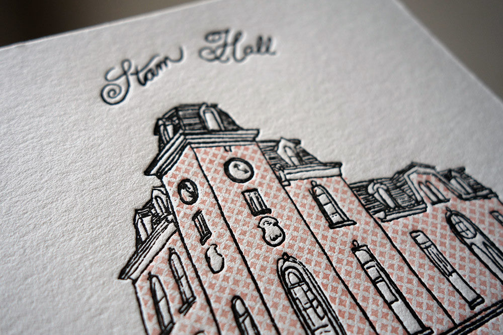 Stam Hall Card