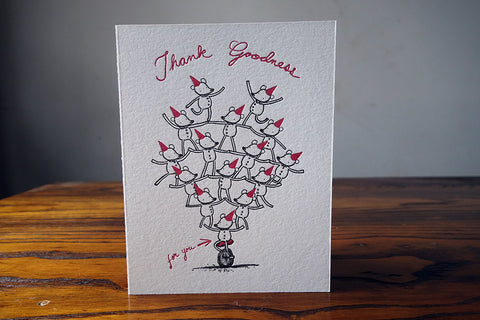 Thank Goodness for You Card