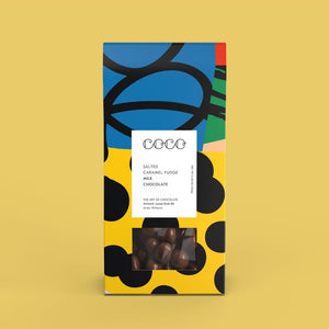 Coco Chocolatier Salted Caramel Fudge