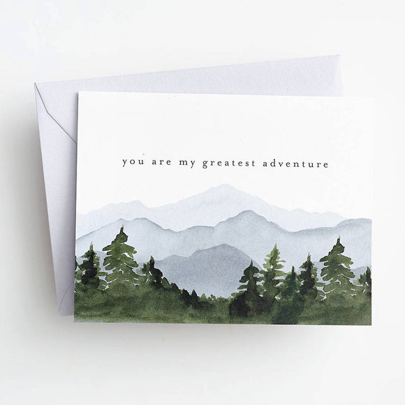 Paper Source Card - You Are My Greatest Adventure