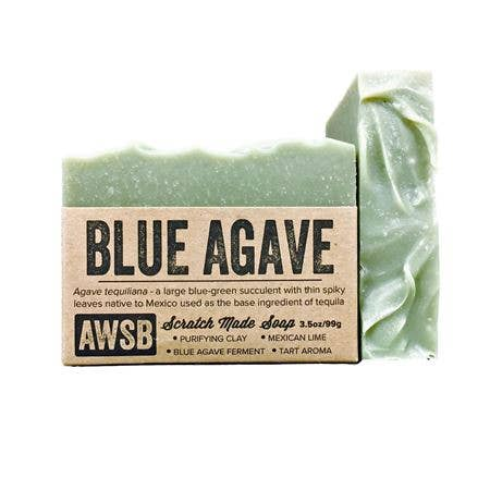 A Wild Soap Bar Blue Agave Soap
