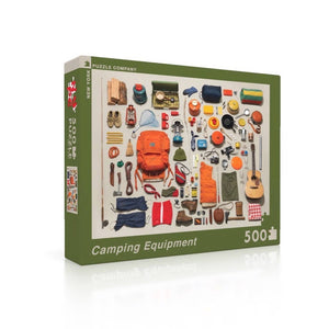 New York Puzzle Co. - Camping Equipment