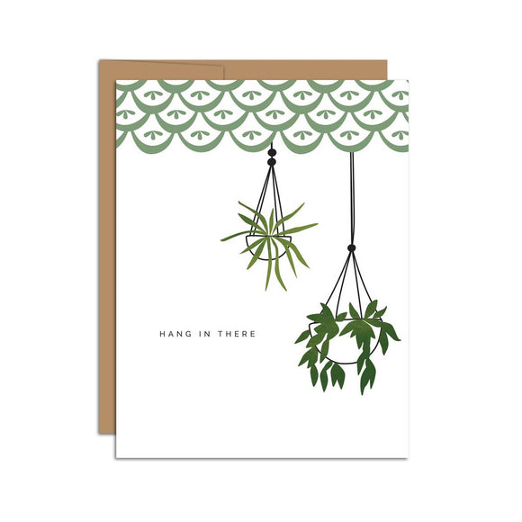 Hazelmade Card - Hang In There