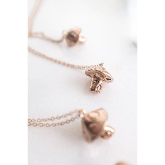 Dawning Collective Mushroom Necklace