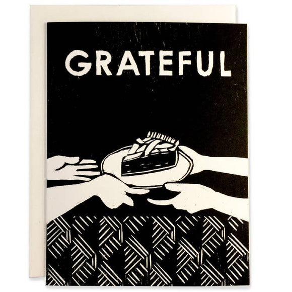 Heartell Card - Grateful for Pie