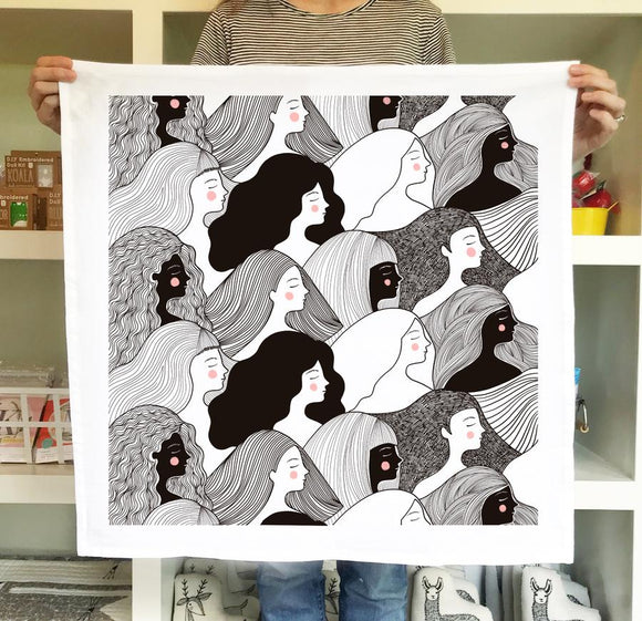 Gingiber Tea Towel - Girl Power