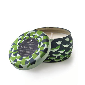 Soap and Paper Factory- Roland Pine Large Tin Soy Candle