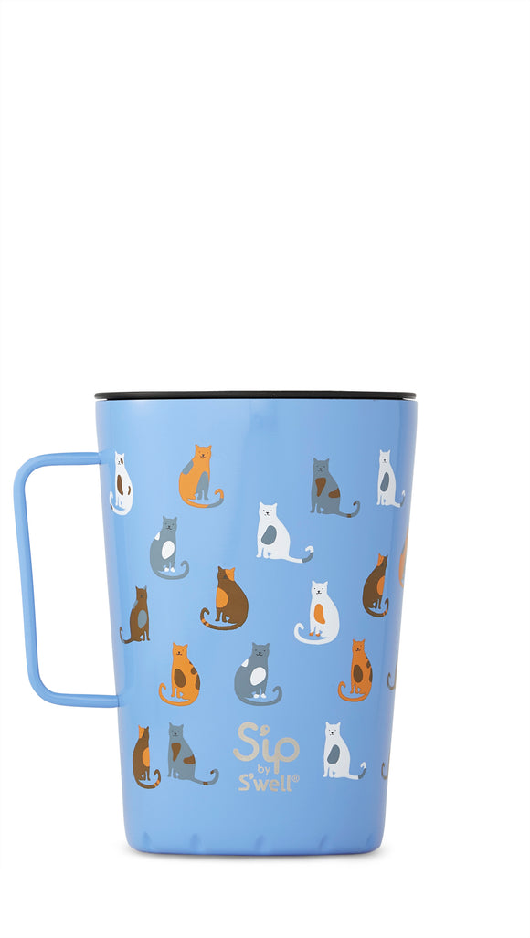 S'well Takeaway Mug - Purrfect morning