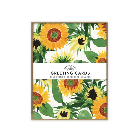 May We Fly boxed set of cards - Sunflower