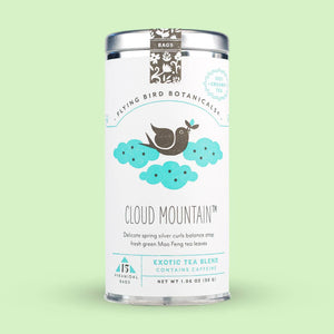 Flying Bird Botanicals Cloud Mountain 15 Tea Bag Tin