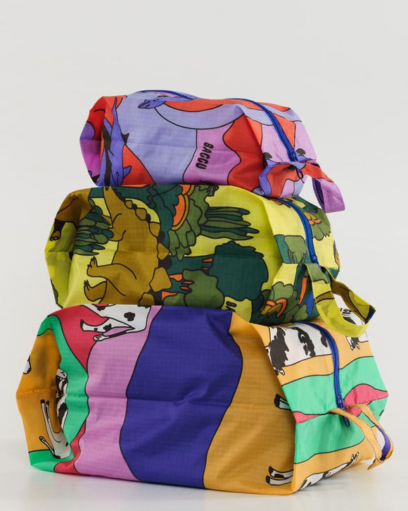 Baggu 3D Zip Set - Animal Friends