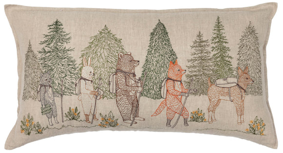 Coral & Tusk Pillow - Hikers
