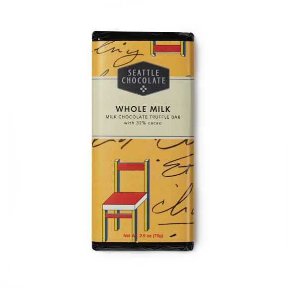 Seattle Chocolate Whole Milk Truffle Bar