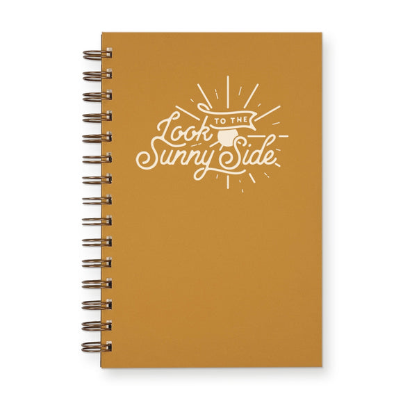 Ruff House Print Shop Weekly Planner Notebook - Sunny Side in Saffron