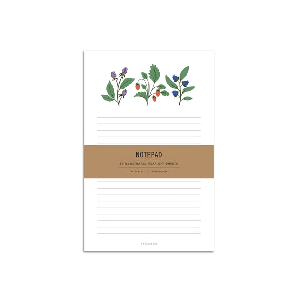 Hazelmade Large Notepad - Summer Berries