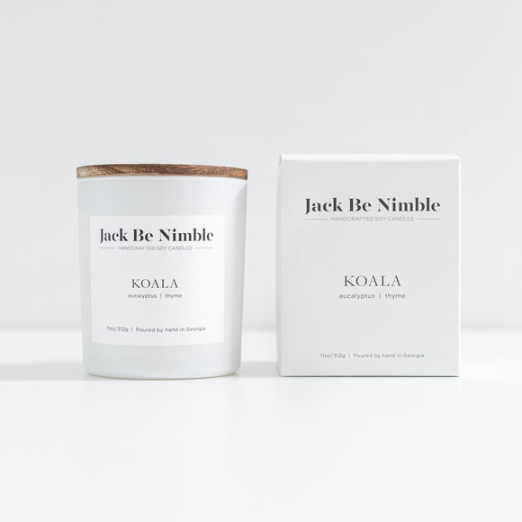 Jack Be Nimble 11oz Soy Candle - Koala