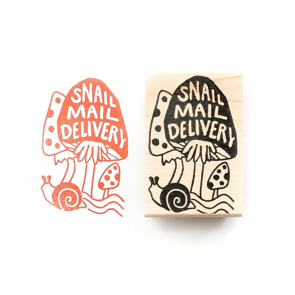 Peppercorn Paper Stamp - Snail Mail Delivery