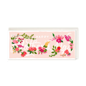 The First Snow Card - Happy Mother's Day Floral