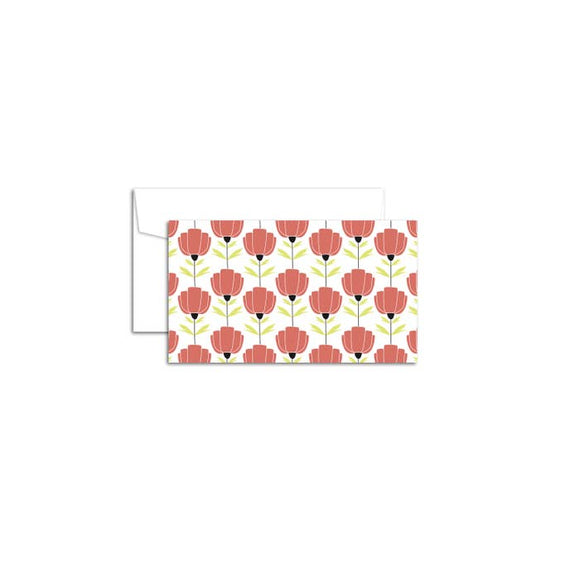 Hazelmade Little Note Set - Poppies
