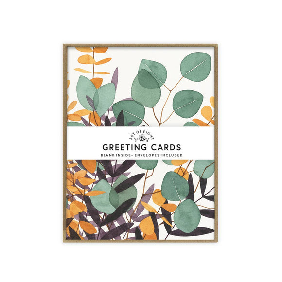 May We Fly boxed set of cards - Eucalyptus