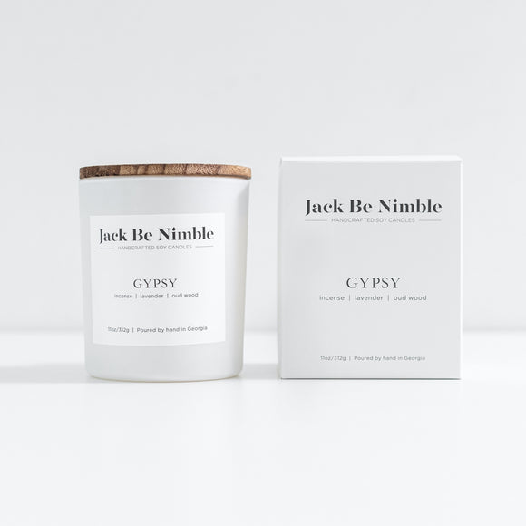 Jack Be Nimble 11oz Soy Candle - Gypsy