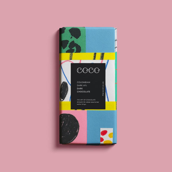 Coco Chocolate Bar - Colombian Dark 61%