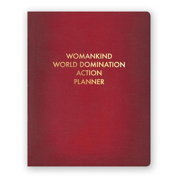 The Mincing Mockingbird Large Journal: Womankind World Domination Action Planner