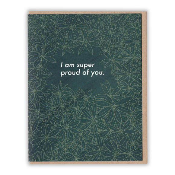 Constellation & Co. Card - I Am Super Proud of You