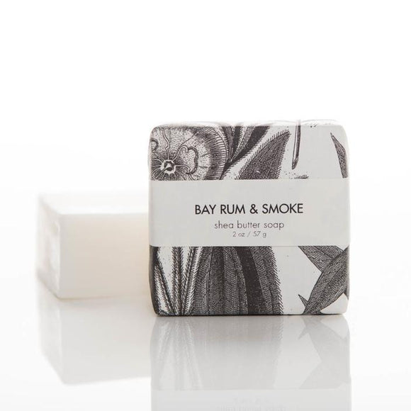 Formulary 55 Shea Butter Soap - Bay Rum & Smoke Guest Bar