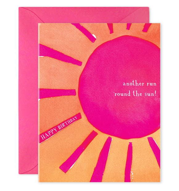 E. Frances Card - Round the Sun
