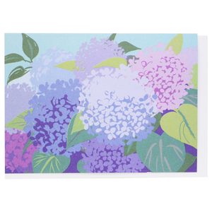Smudge Ink Boxed Notecards - Hydrangeas