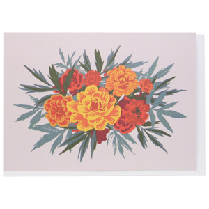 Smudge Ink Boxed Notecards - Marigolds