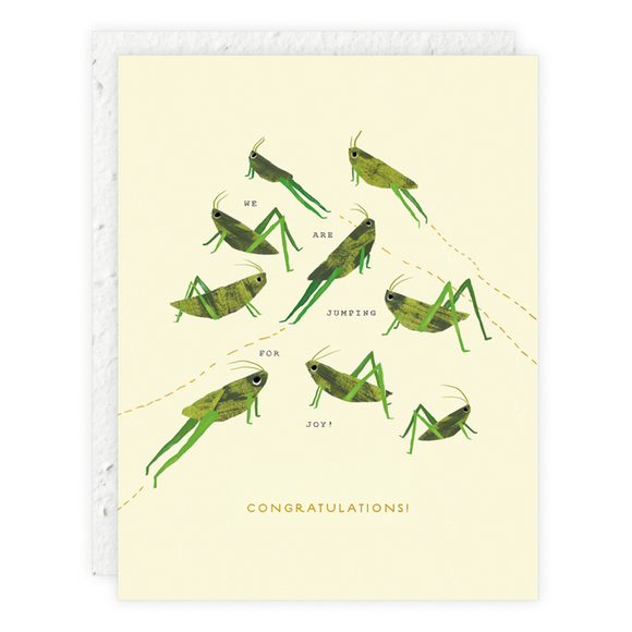 Seedlings Card - Jumping for Joy