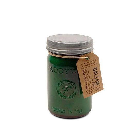 Paddywax Relish 9.5 oz. Candle - Emerald Green + Balsam Fir